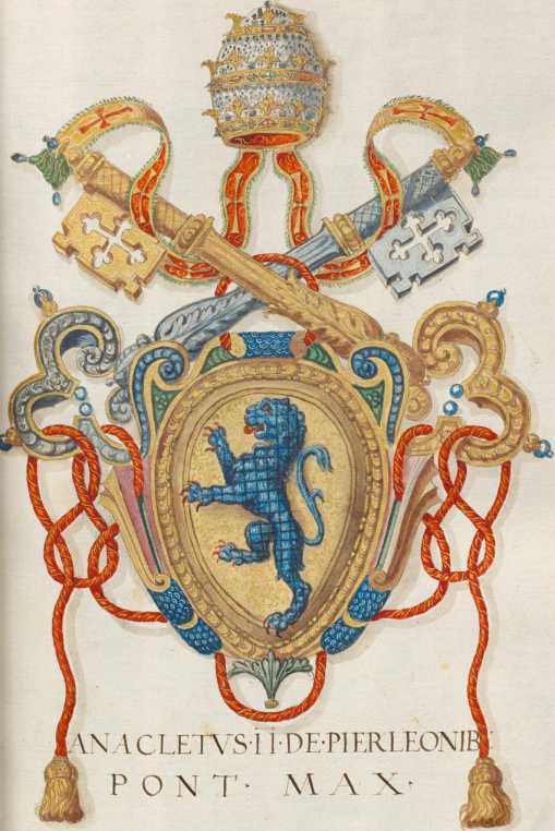 Papst Anaklet II. Wappen (42r ... from