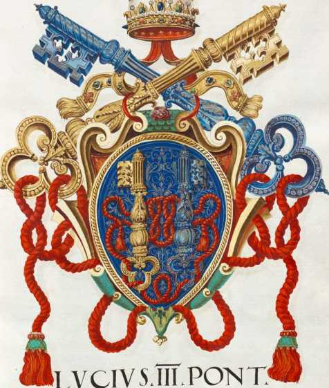 Papst Lucius III. Wappen (3r )