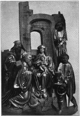 Fig. 101. Ortenburgkapelle. Dreikönigsr...