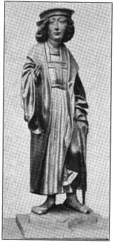 Fig. 108. Ortenburgkapelle. Holzfiguren....