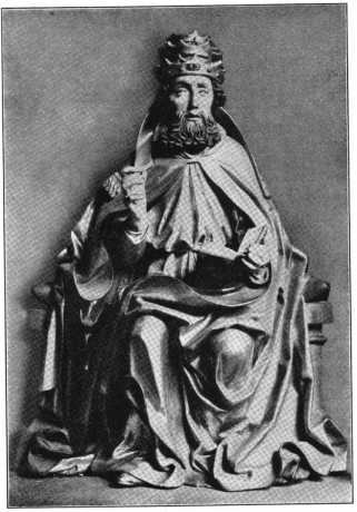 Fig. 109. Ortenburgkapelle. Holzfigur St...