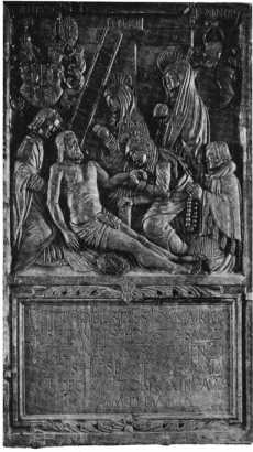 Fig. 131. Herrenkapelle. Epitaph des Kan...