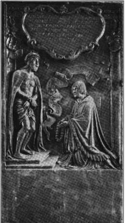 Fig. 132. Herrenkapelle. Epitaph des Kan...