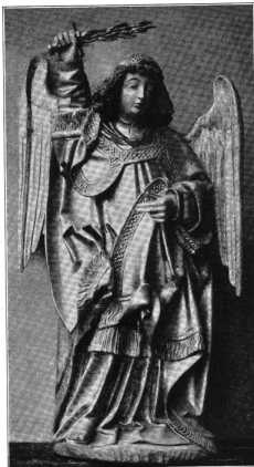 Fig. 246. Salvatorkirche. Holzfigur St. ...