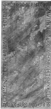 Fig. 262. St. Severin. Grabstein des Pfa...
