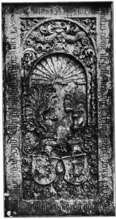 Fig. 263. St. Severin. Grabstein des Jö...