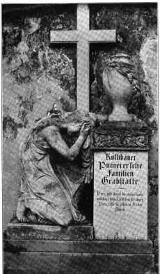 FRIEDHOF.Fig. 274. Friedhof. Grabdenkmal...