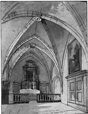 Schloßkapelle St. Georg. Fig. 348. Ober...