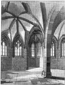 Fig. 385. Heiliggeistkirche. Innenarchit...