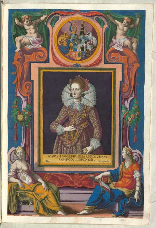 Maria, geb. Fugger (1594 - ... from