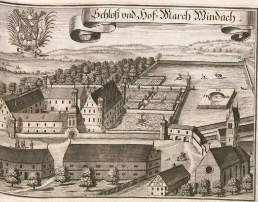 M 137:Schloß und Hof-March Windach.