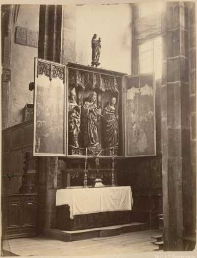 III.50. Altar in St. Lorenz. ... from
