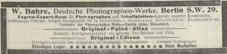 No. 3.Berlin, 20. Januar 1904. ... from