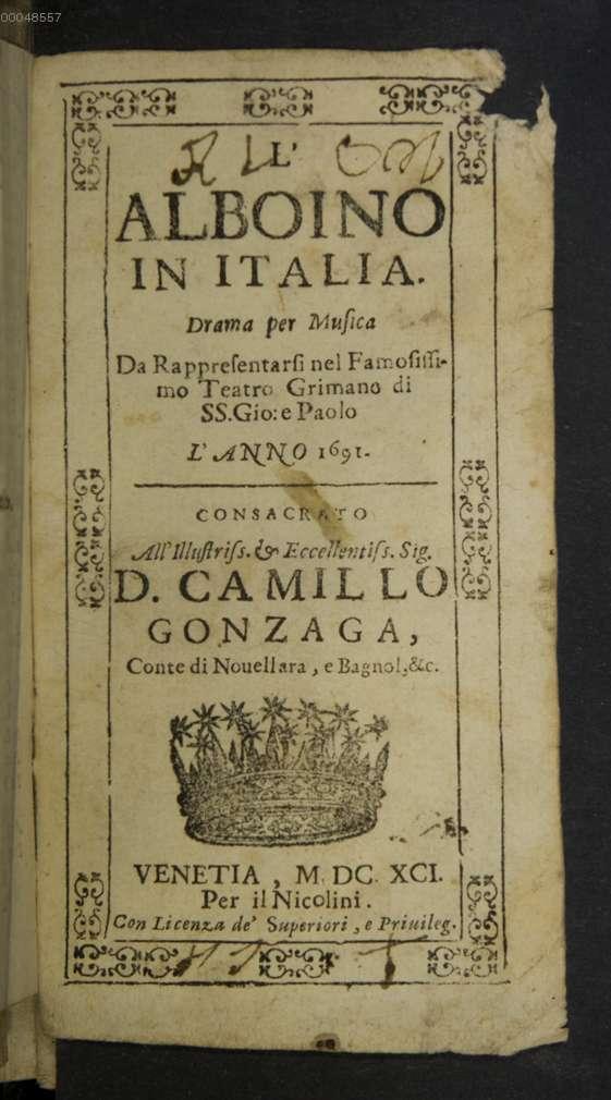 big sale 0908b f4345 Titelseite] ((1)) , da: Corradi, Giulio Cesare: Tosi ...